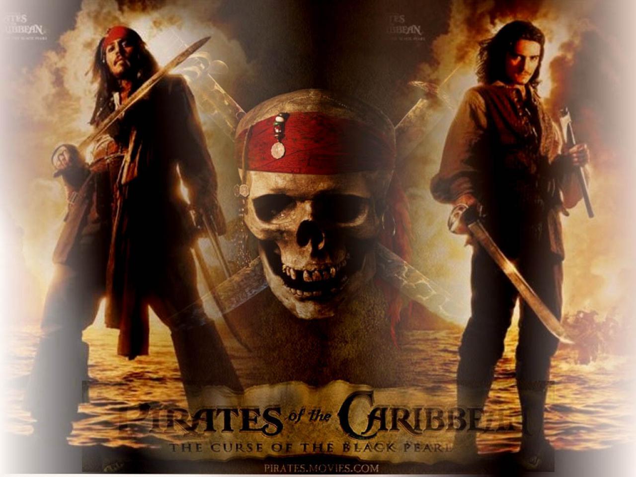 Fonds D Ecran Du Film Pirates Des Caraibes La Malediction Du Black Pearl Wallpapers Cinema
