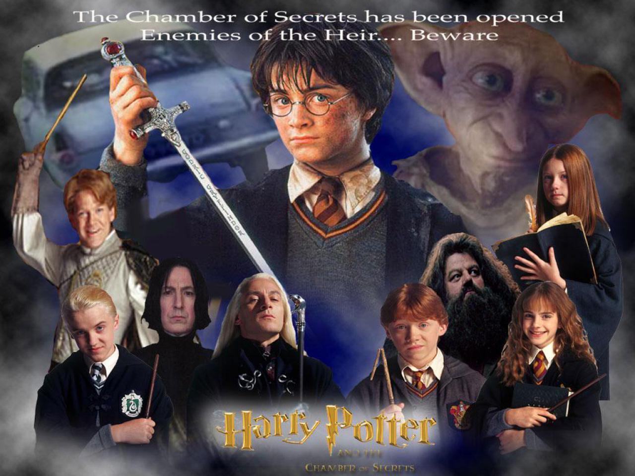 Charmant Harry Potter Et La Chambre Des Secrets 1280 X 960