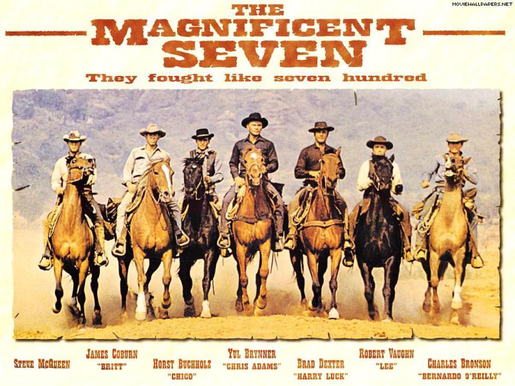 Les 7 mercenaires . The Magnificent Seven . 1960 . John Sturges  25140-1024x768