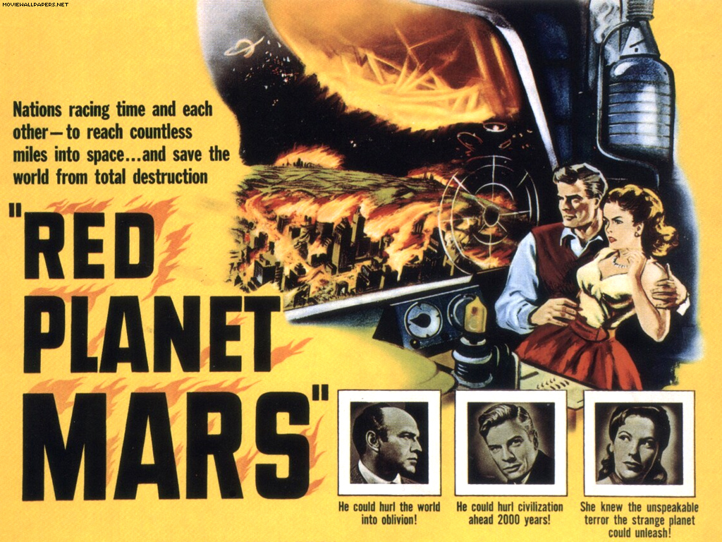 Herbert Berghof Wallpapers Fonds d cran du film Red planet Mars