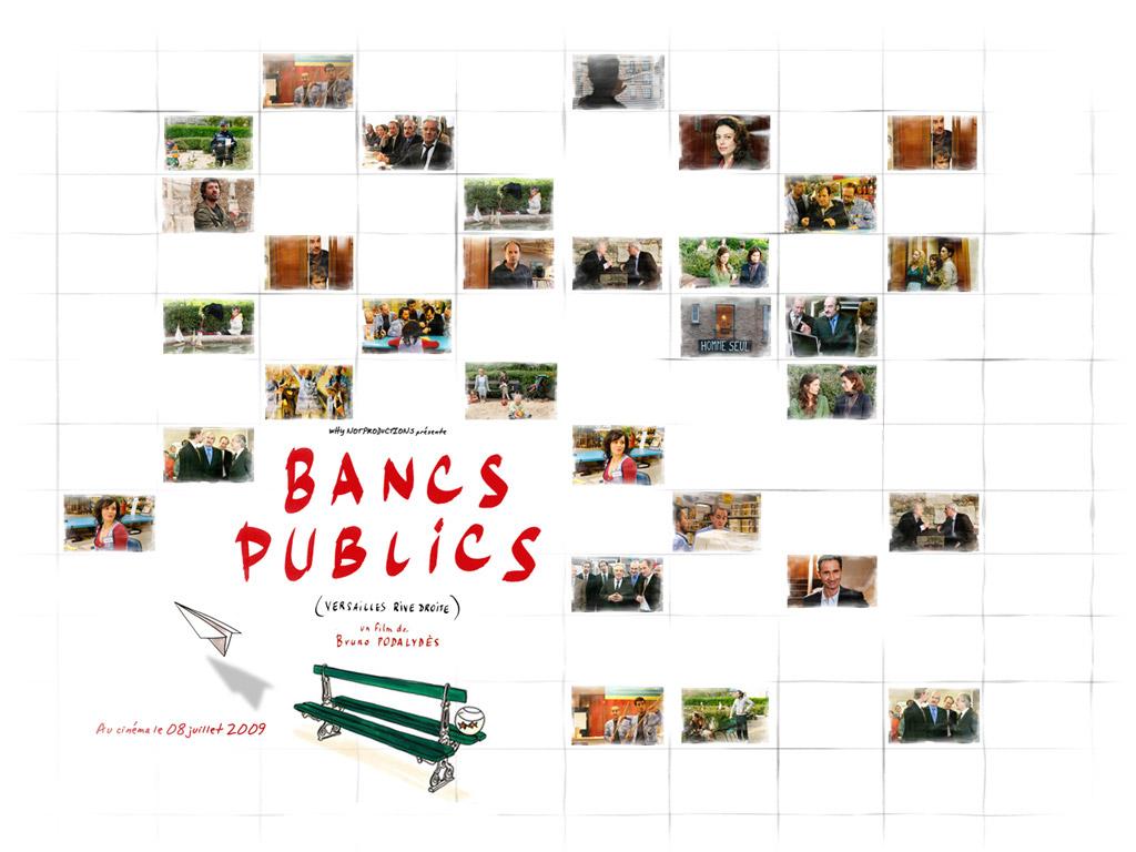 Fonds d 39 cran du film bancs publics versailles rive droite wallpapers cin ma - Bancs publics versailles rive droite ...