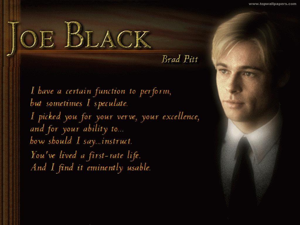Bo du film rencontre avec joe black