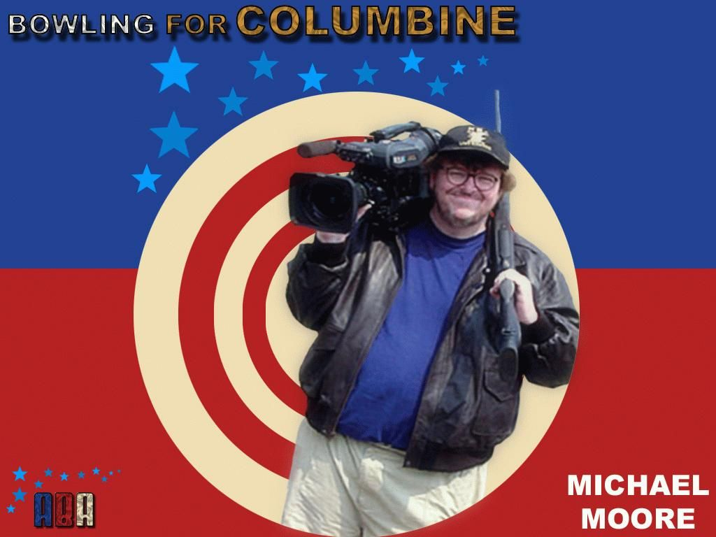 an analysis of the movie bowling for columbine by michael moore Michael moore is a documentary filmmaker and satirist his debut film, 'roger & me,' became the highest-grossing american documentary of its time born in flint, michigan, michael moore burst onto.