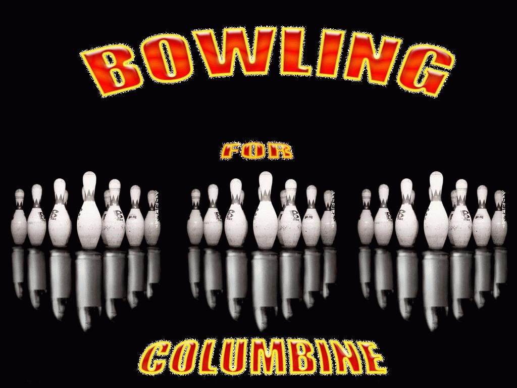 propaganda bowling for columbine Bowling for columbine: moore's 2002 film, bowling for columbine, probes the culture of guns and violence in the united states bowling for columbine won the anniversary prize at the cannes film festival and france's cesar award as the best foreign film.
