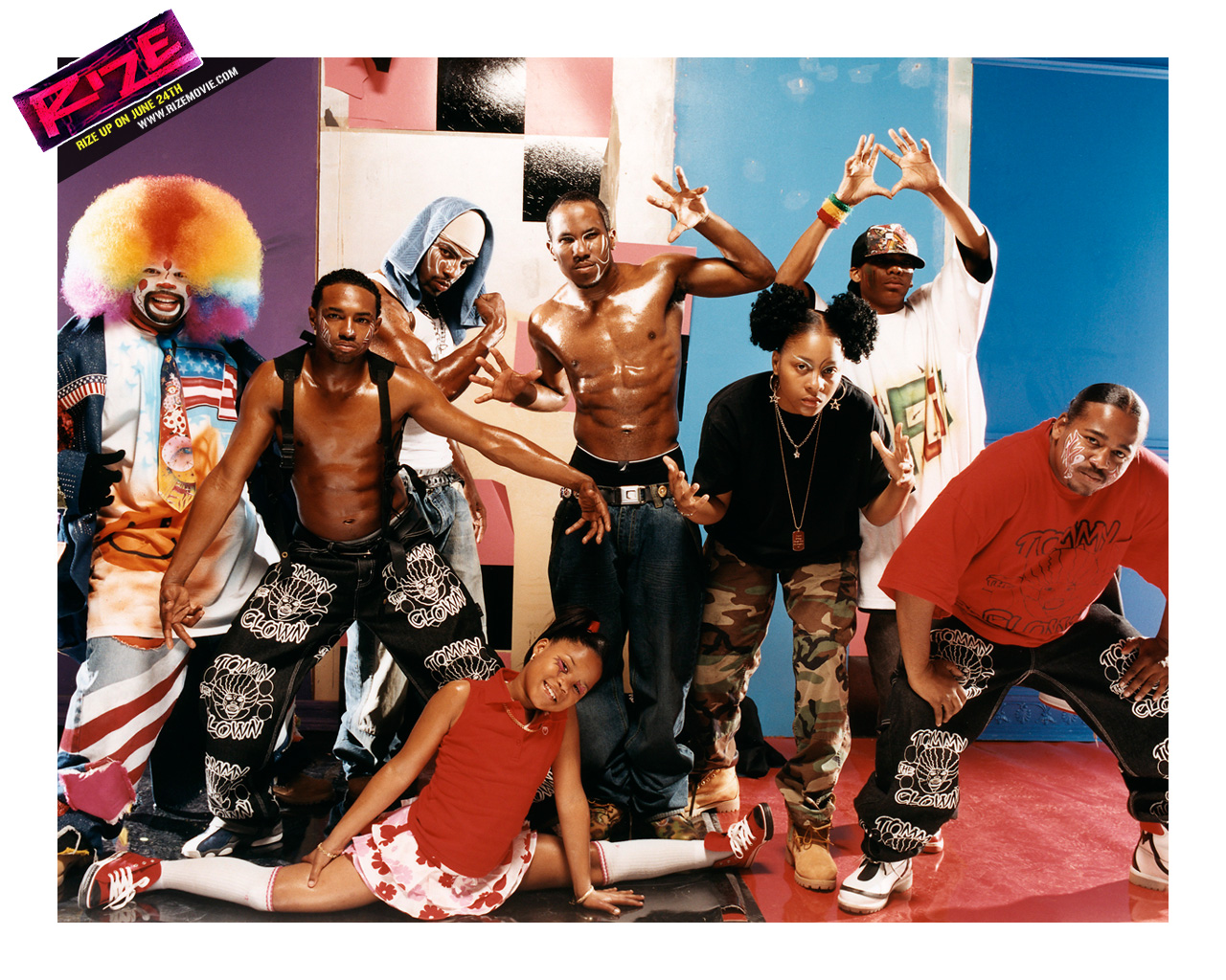 rize documentary A documentary film that highlights two street derived dance styles, clowing and krumping, that came out of the low income neighborhoods of la director david lachapelle interview.