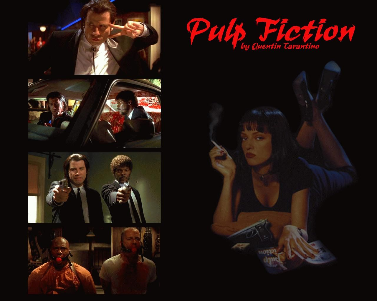 an introduction to the analysis of the film pulp fiction Pulp fiction (1994) is an american crime film directed by quentin tarantino, who cowrote its screenplay with roger avary the film's title refers to the pulp magazines and hardboiled crime novels popular during the mid-20th century, known for their graphic violence and punchy dialogue.